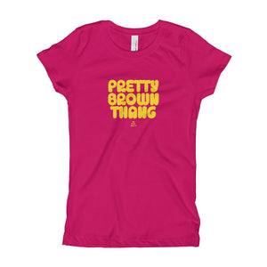 Pretty Brown Thang -Girl's T-Shirt (Youth)