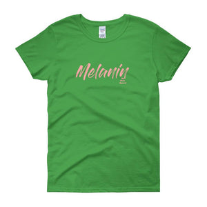 Melanin - Women's short sleeve t-shirt