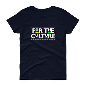 For The Culture (Martin Font) - Women's short sleeve t-shirt
