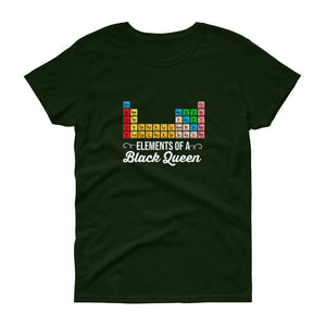 Elements Of aA Black Queen - Women's short sleeve t-shirt