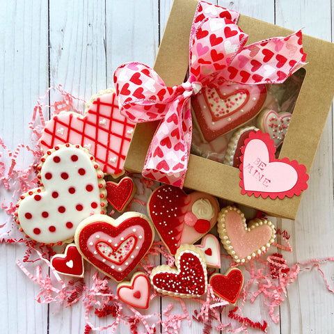 Valentine Cookie Box