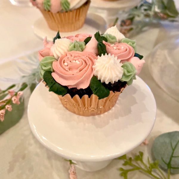 Floral Wedding Cupcakes