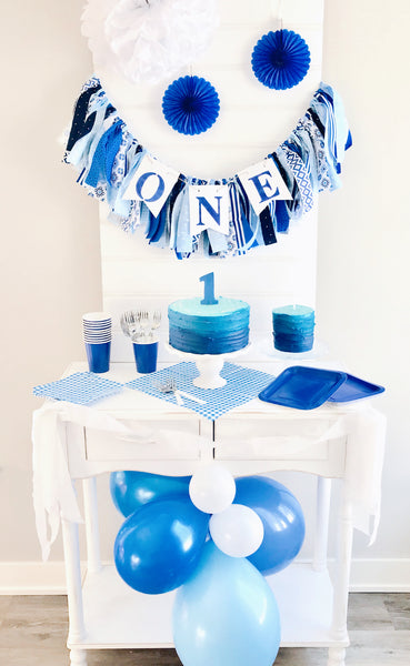 Little Boy Blue 1st Birthday Party Box