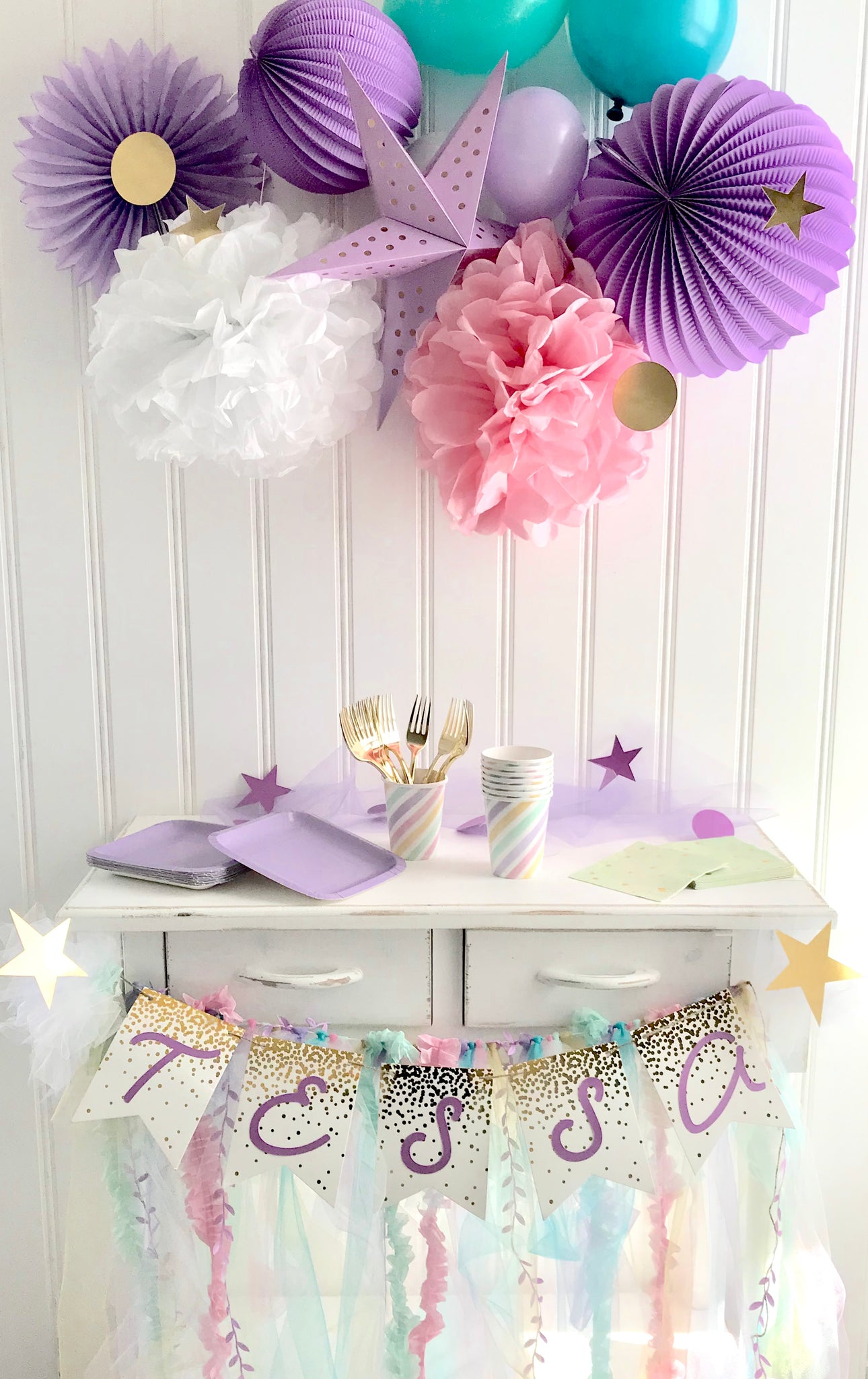 Rainbows & Stars Unicorn Party