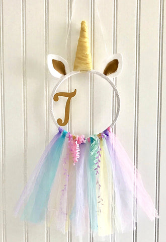 Unicorn Hoop Wreath