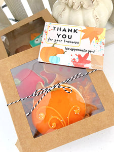 Fall Cookie Box