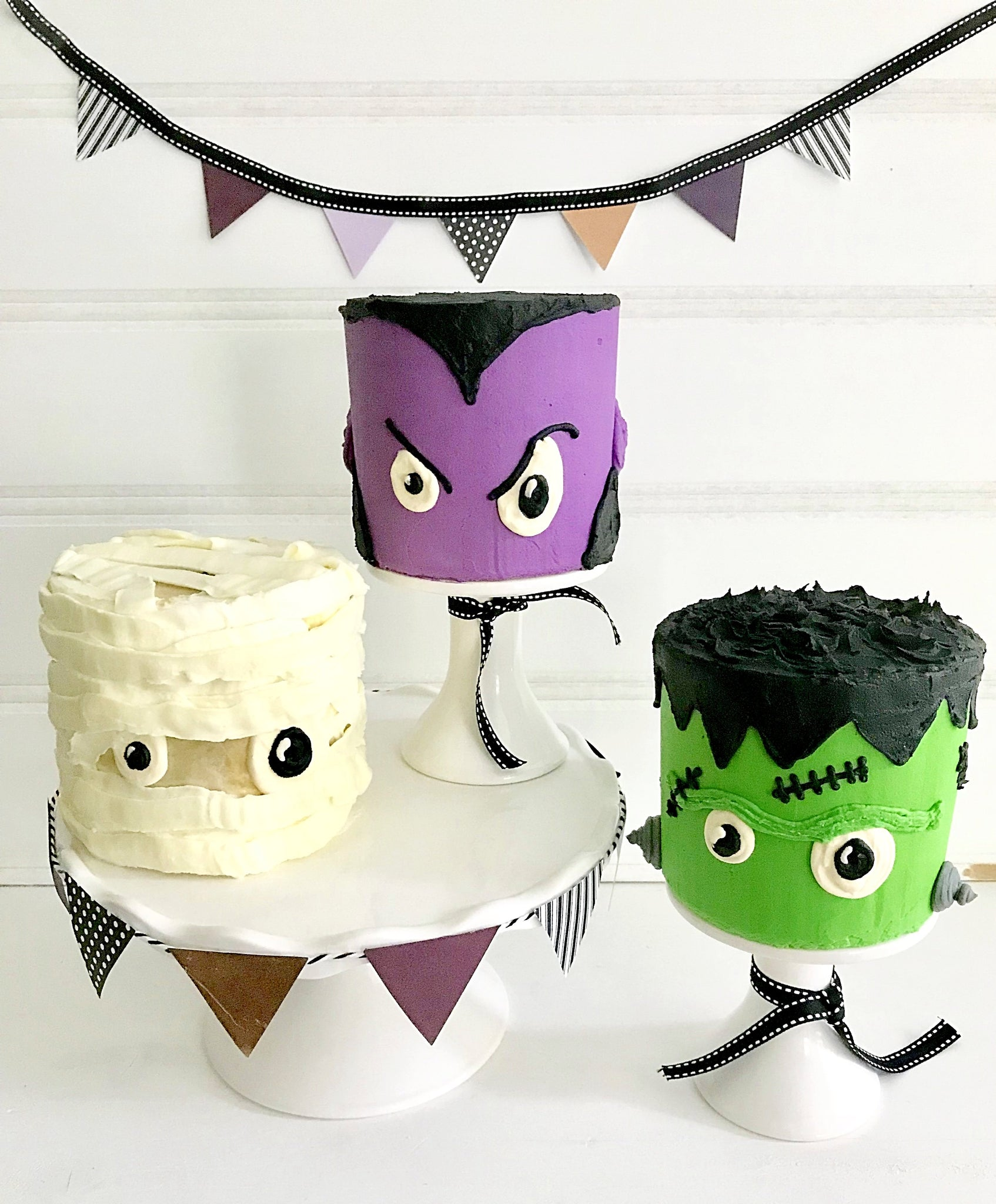Mini Monsters Decorating Party