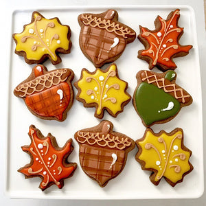 Fall Foliage Cookies