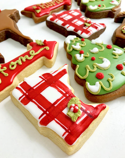 Minnesota Christmas Cookie Set
