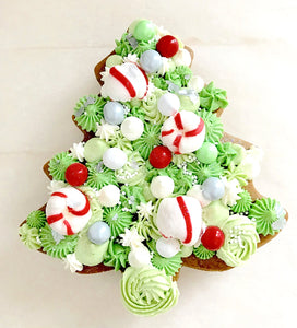 Gingerbread Tree Layered Cookie