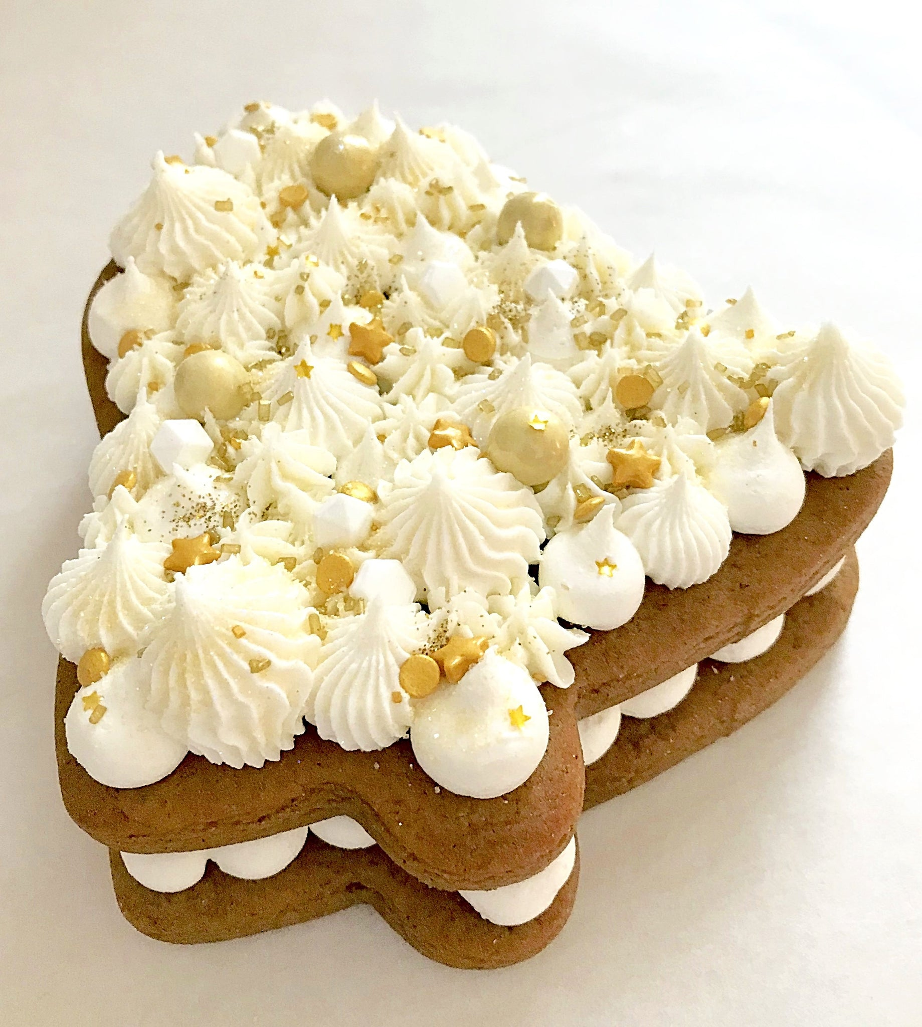 Gingerbread Bell Layered Cookie