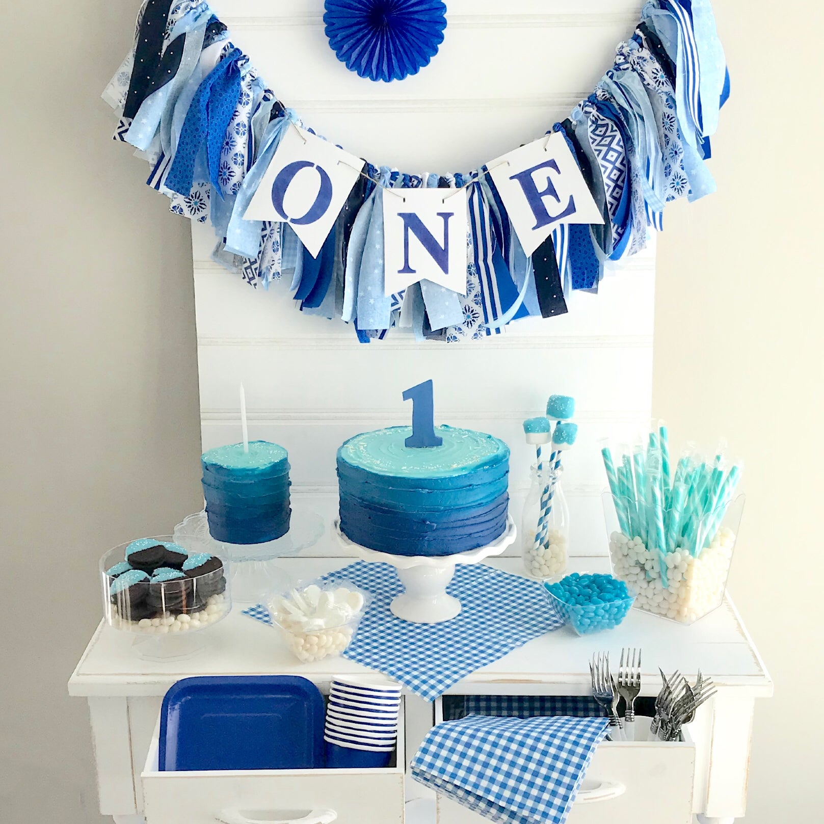 Blue Candy/Treat Station