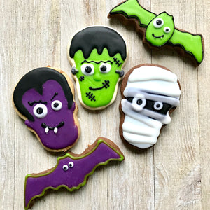 Monster Decorated Cookies