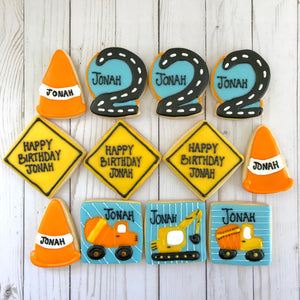 Construction Zone Cookies