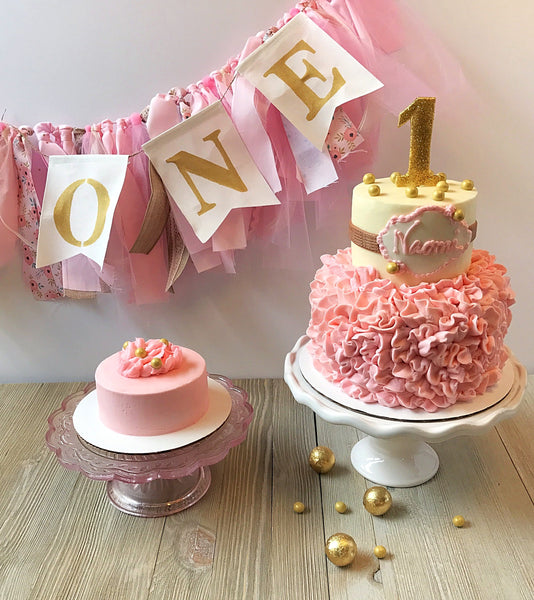 Tickled Pink 1st Birthday Party Box