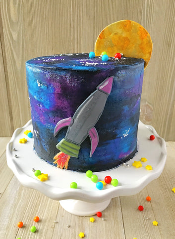 Blast Off Birthday Party Box