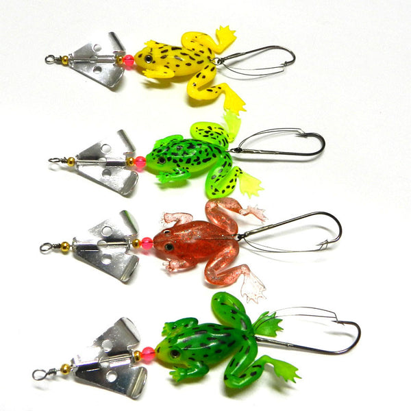 Soft Frog Fishing Lure