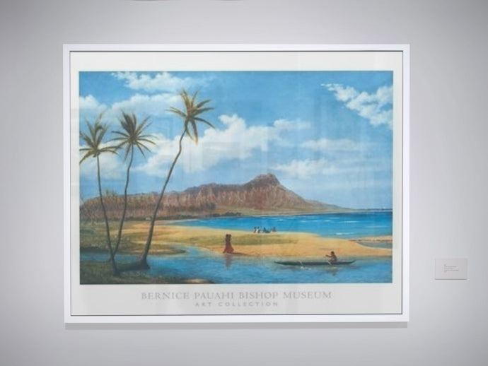 Diamond Head from Waikiki (Poster)