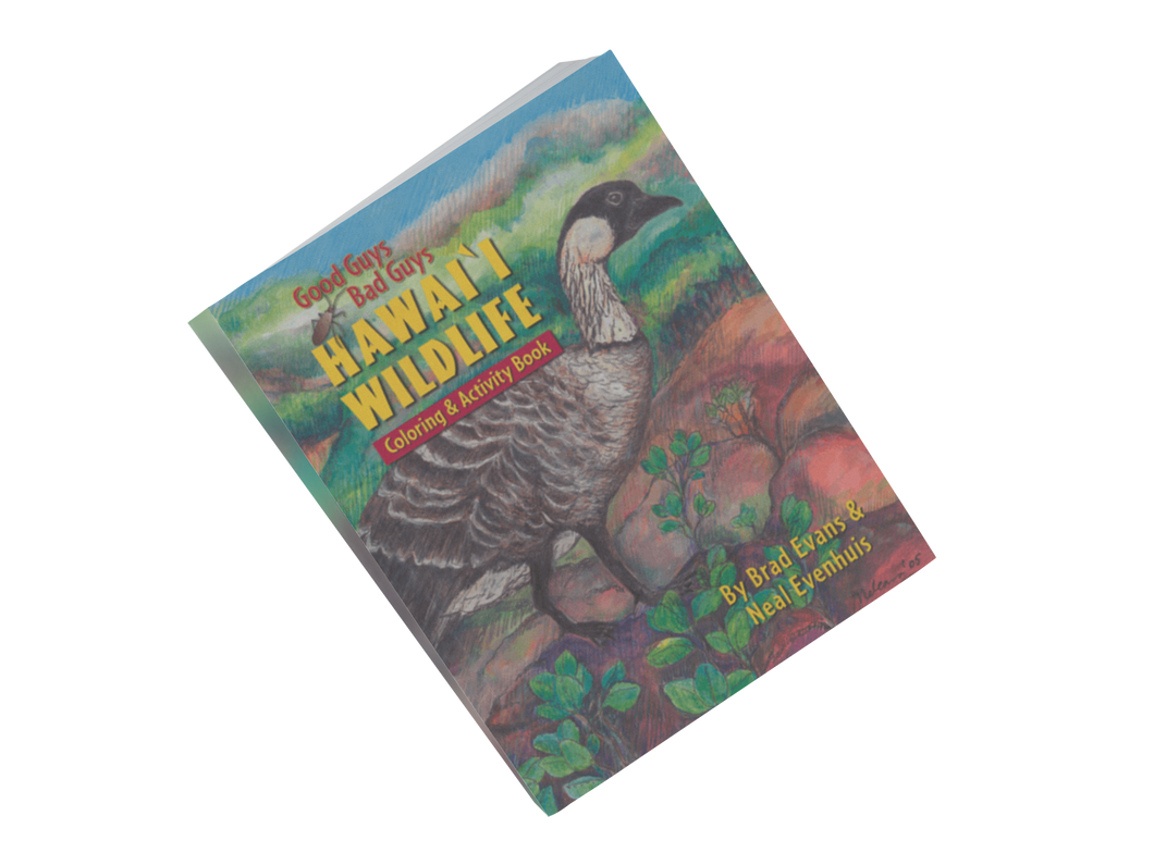 Good Guys, Bad Guys: Hawaiʻi Wildlife Coloring & Activity Book