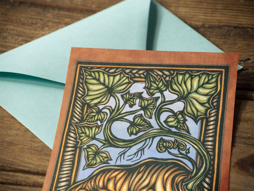 Lono's Garden Notecards