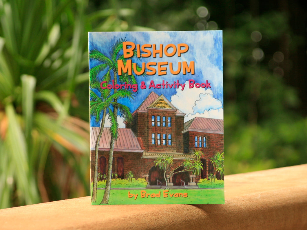 Bishop Museum Coloring & Activity Book