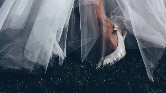 7 STEPS TO THE PERFECT WEDDING SHOES
