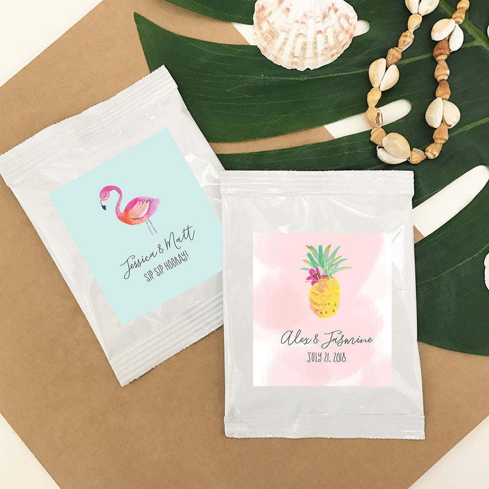 PERSONALIZED TROPICAL BEACH LEMONADE + OPTIONAL HEART WHISK
