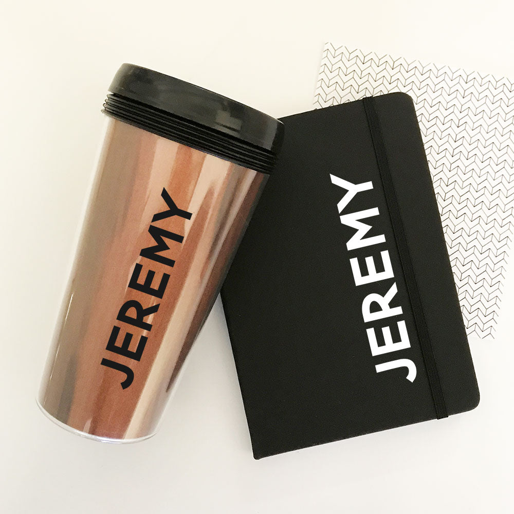 PERSONALIZED MEN'S TRAVEL TUMBLERS
