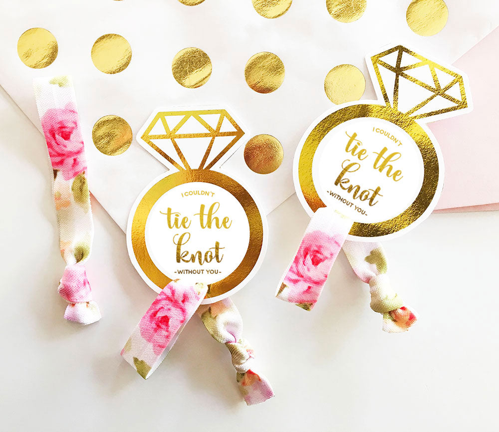 TIE THE KNOT HAIR TIES - 6 PACK