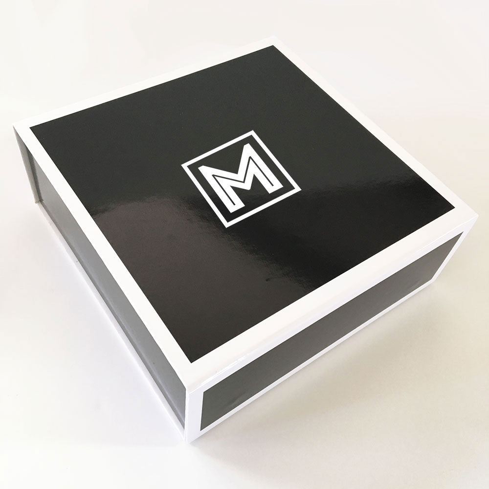 BLACK MONOGRAM GIFT BOX