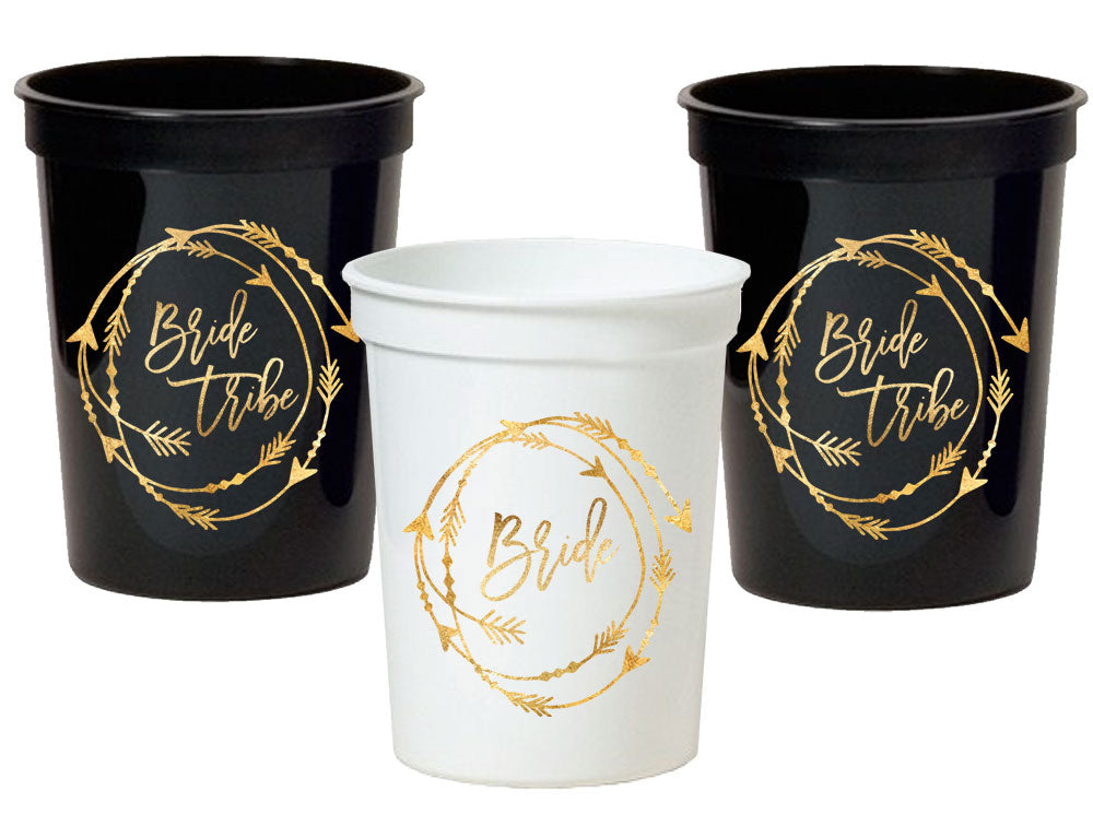 BRIDE TRIBE CUPS (SET OF 10)
