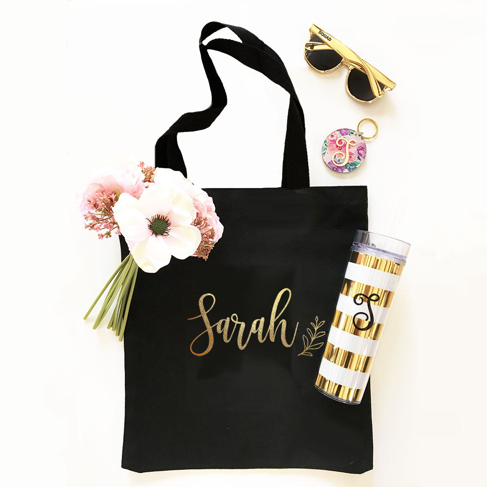 CUSTOM NAME TOTE BAGS
