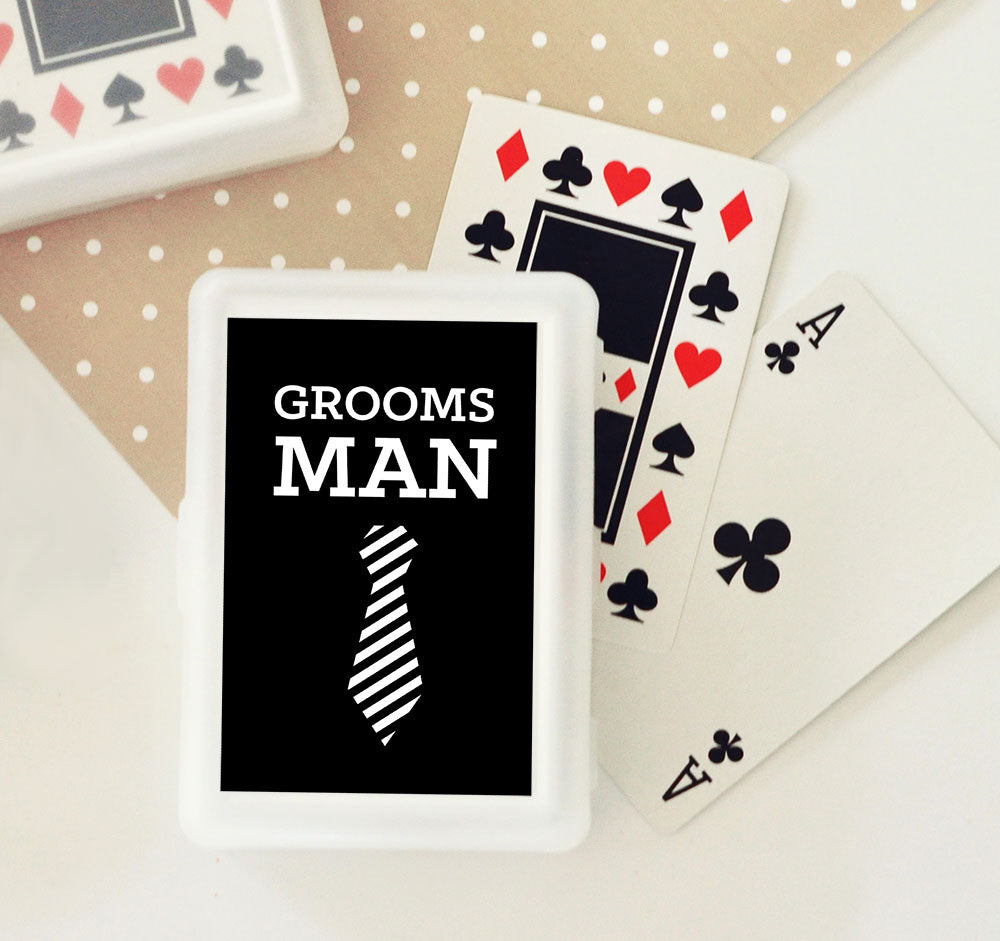 GROOMSMEN PLAYING CARDS (SET OF 6)