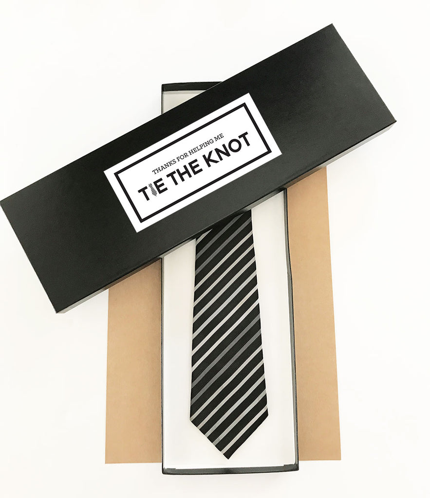 PERSONALIZED TIE BOX