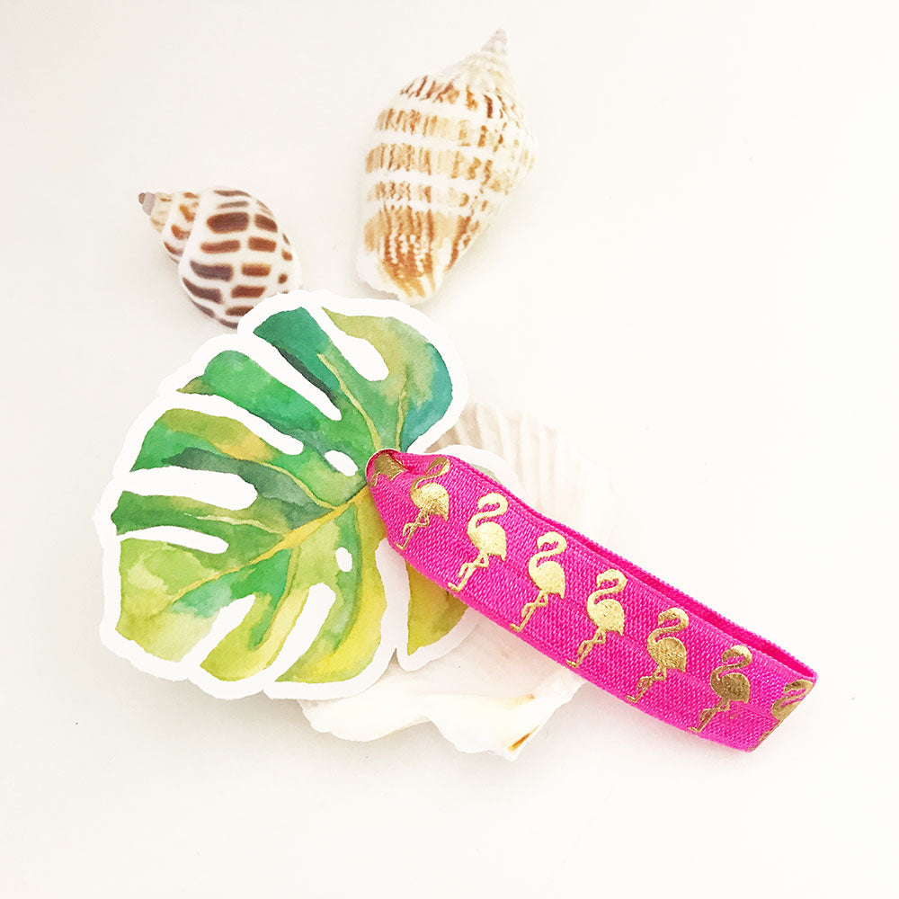 TROPICAL HAIR TIES