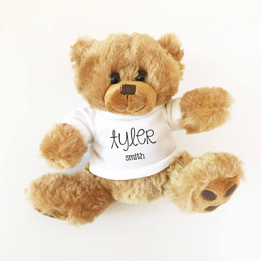 CUSTOM TEDDY BEAR GIFT
