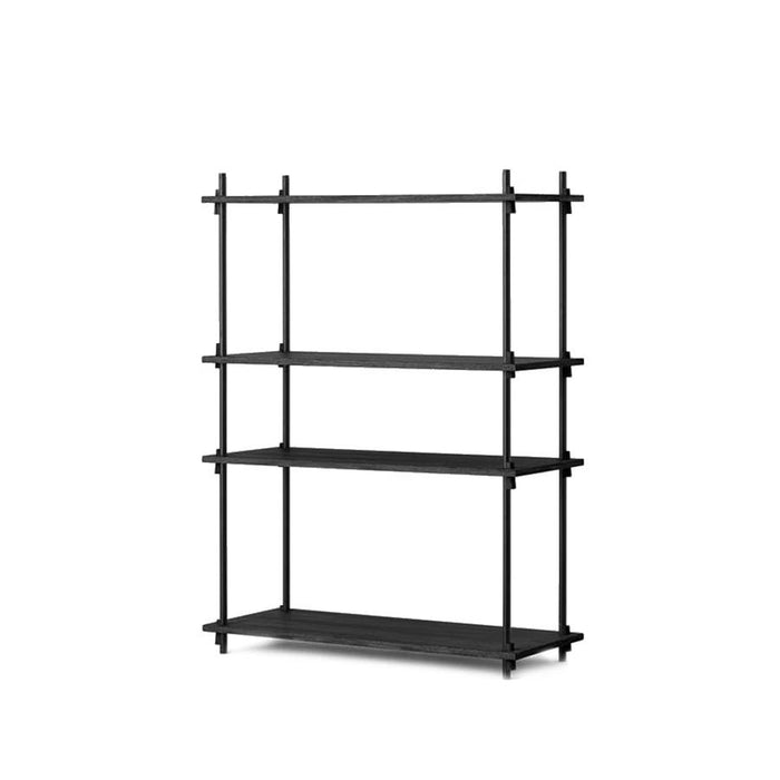 moebe shelving black medium