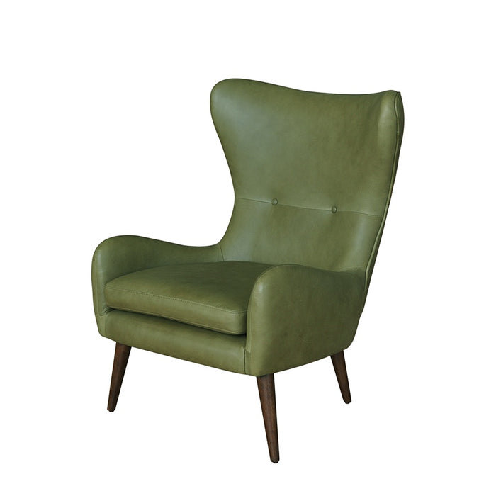 Apollo Armchair - Olive Leather