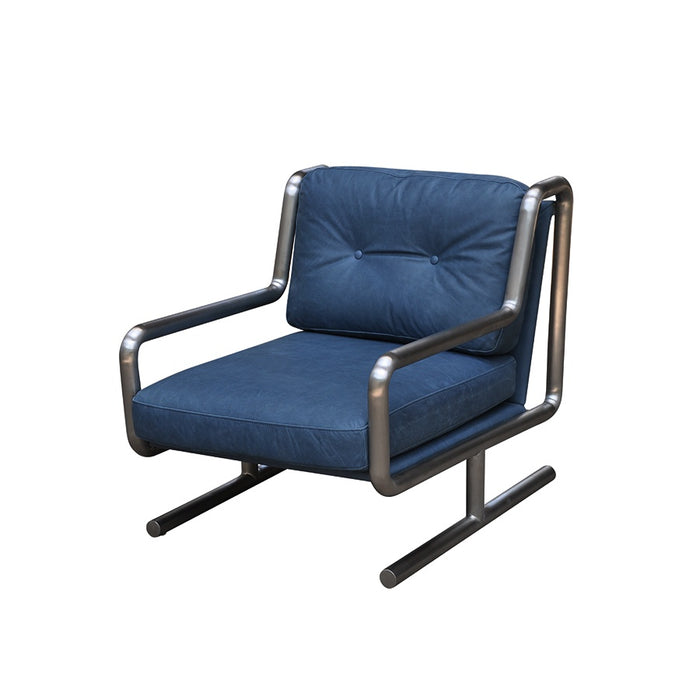 Concorde Leather Armchair - Midnight