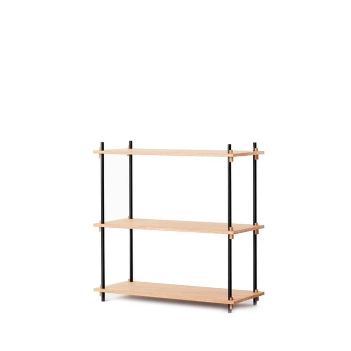 Moebe Low Shelving System - Oak