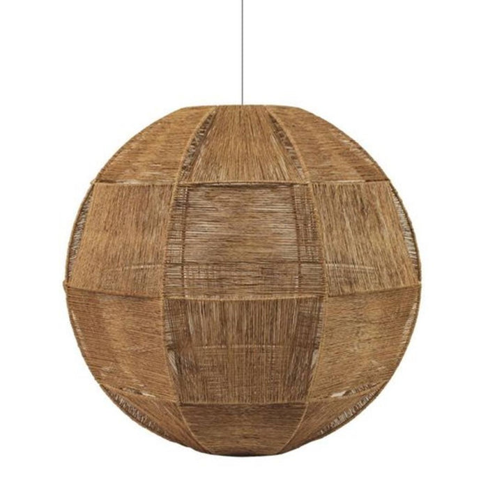 Jute weave light shade