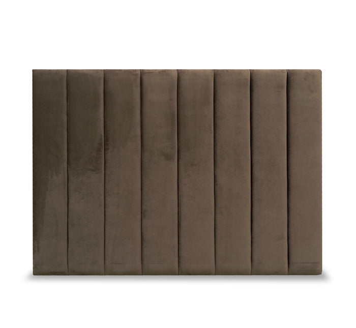 Queen headboard - Plush 'Bracken'