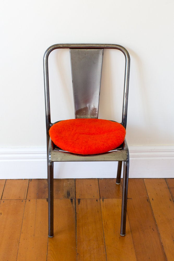 Misery Guts Tush Cush Cushion - overly orange