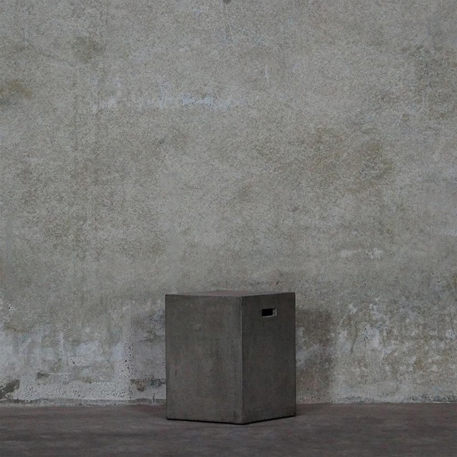 Concrete Square Stool
