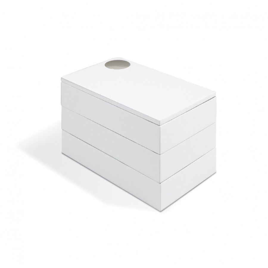 Umbra Spindle storage box - white