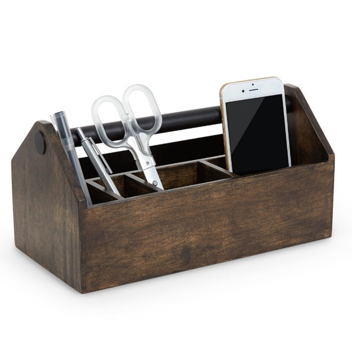 Umbra Toto storage box - walnut