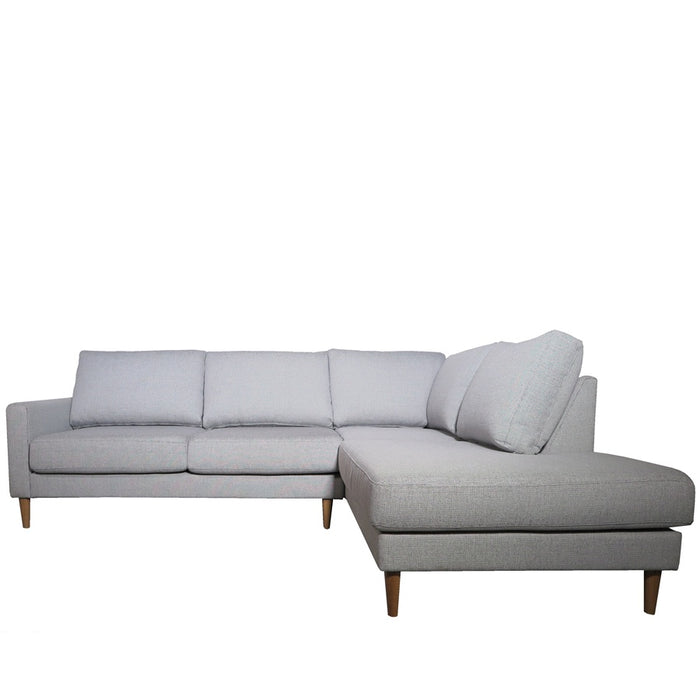 Voyager 2.5 Seat Sofa + Corner Chaise - Platform Domino - front