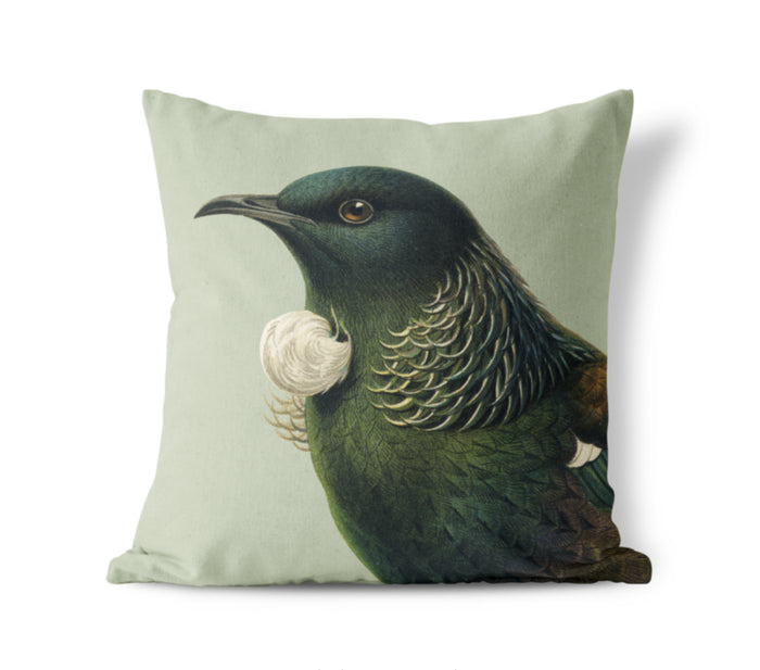 Hushed Tui cushion