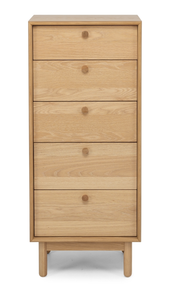 Lars 5 drawer tallboy