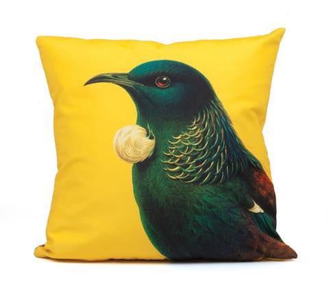 Bright Tui cushion